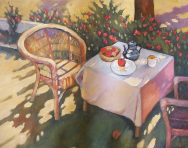 dolores hibbard, tea time