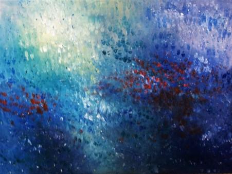 Gloria Sepp. Blue Magic.30 x 40 Oil