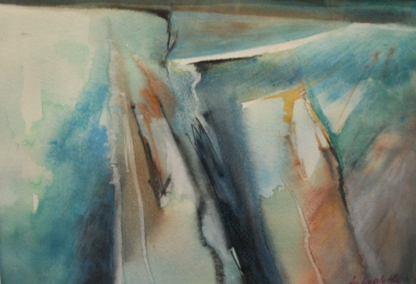 Loretta LaMothe. Abstracted Landscape
