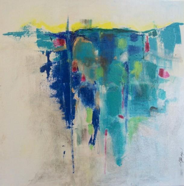 Gloria Sepp. Intrigue 12x12 oil.canvas