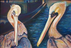 """Two for the Evening"" Oil on Canvas"